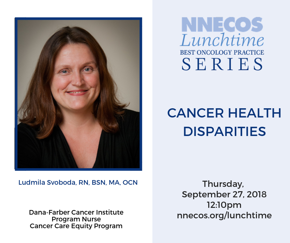 Cancer Health Disparities Webinar September 27th