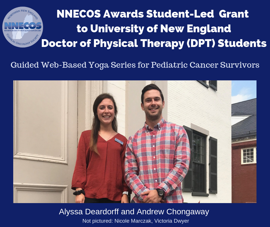 Student Led Grant Awarded to UNE DPT Students